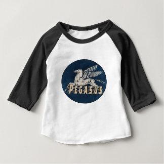 Vintage Pegasus Design Baby T-Shirt