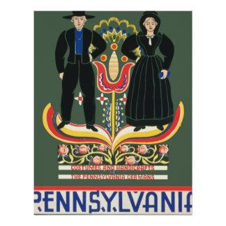 Vintage Pennsylvania Travel Letterhead
