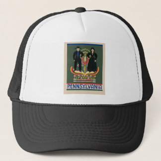 Vintage Pennsylvania Travel Trucker Hat