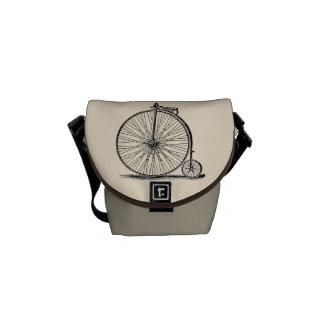 Vintage Pennyfarthing Mini Messenger Bag