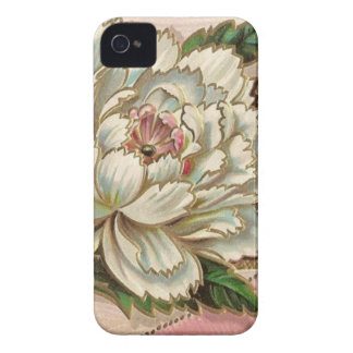 Vintage Peony Flower iPhone 4 Case-Mate Case