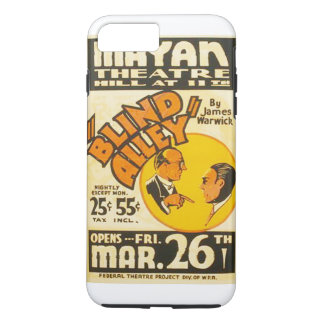 """Vintage Performing Arts """"Blind Alley"""" WPA Poster iPhone 7 Plus Case"""