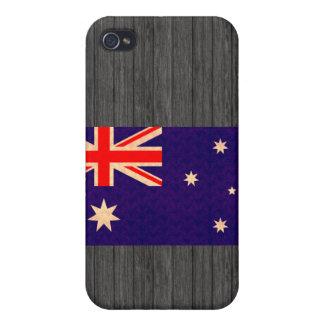 Vintage Pern Australian Flag Case For iPhone 4