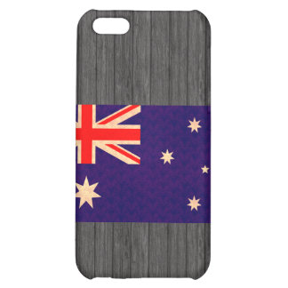 Vintage Pern Australian Flag Cover For iPhone 5C
