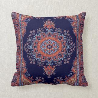 Vintage persian pattern throw pillow