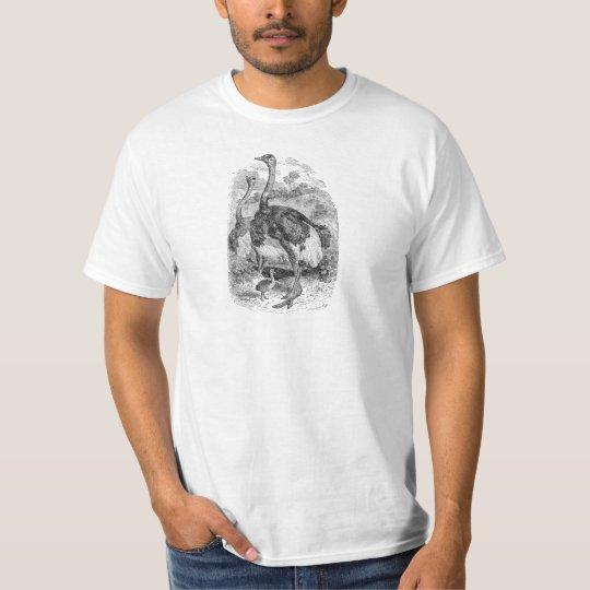 Vintage Personalized Ostrich Bird Chicks - Birds T-Shirt