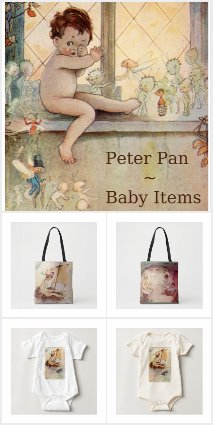 Vintage Peter Pan Baby Gifts