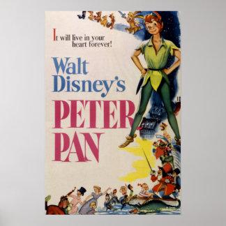 Vintage Peter Pan Poster