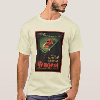 Vintage Peugeot Ad - Partout Comme sur un billard T-Shirt
