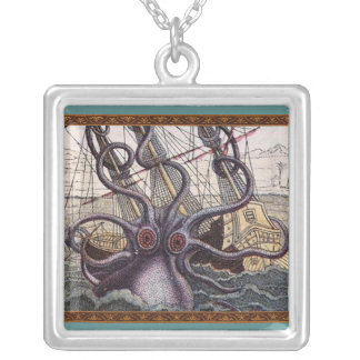 Vintage Phantom Octopus Necklace