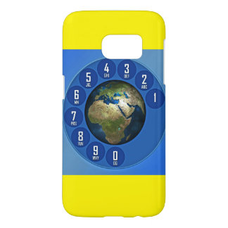 VINTAGE PHON EARTH SAMSUNG GALAXY SAMSUNG GALAXY S7 CASE