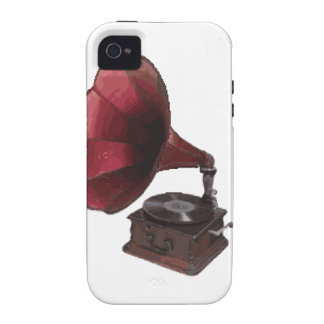 Vintage Phonograph Case For The iPhone 4