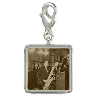 Vintage Photo Big Band Sax Charm