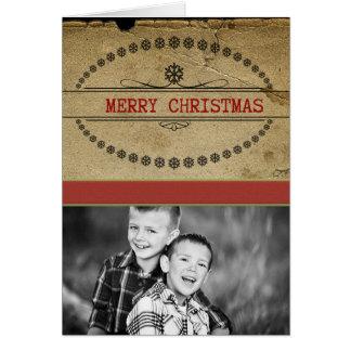 vintage photo cards christmas card