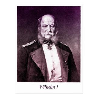 Vintage photo King Wilhelm I of Germany Postcard
