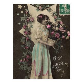 vintage photo Ladies Post Cards