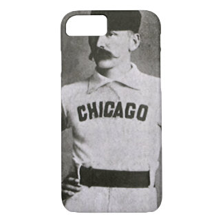Vintage Photo, Sports Chicago Baseball Player iPhone 7 Case