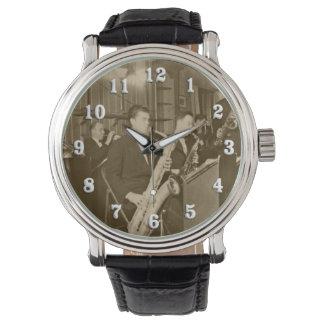 Vintage Photograh Big Band Sax Watch