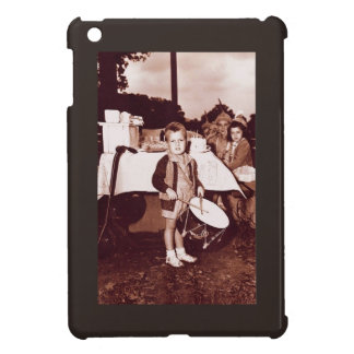 Vintage Photograph Drummer Boy c 1930s Cover For The iPad Mini