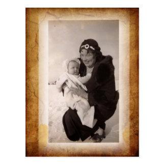 Vintage Photograph Postcard