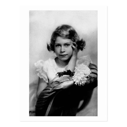 Vintage photograph Princess Elizabeth Postcard