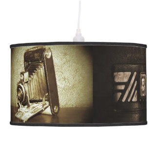 Vintage Photographs Pendant Lamp