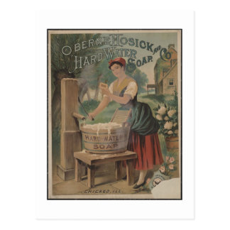 Vintage Photography Hard Water Soap Postcard