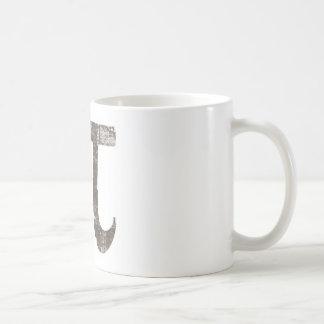 Vintage Pi Classic White Coffee Mug