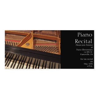 Vintage Piano Invitation