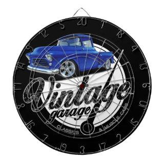 Vintage Pickup Garage Dartboard