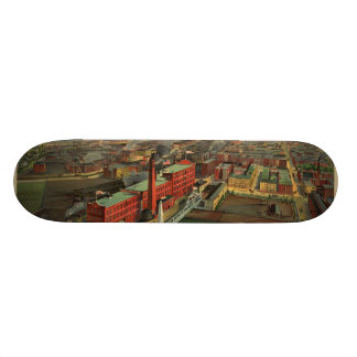 Vintage Pictorial map of Boston 1902 Skate Deck