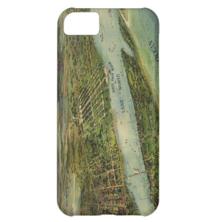 Vintage Pictorial Map of West Palm Beach (1915) iPhone 5C Case