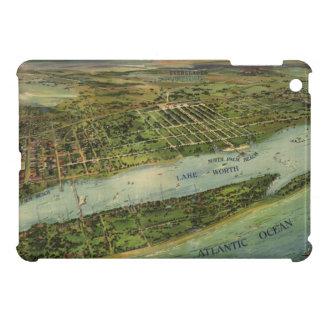 Vintage Pictorial Map of West Palm Beach (1915) iPad Mini Cases