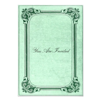 Vintage Picture Frame Wedding Invitations