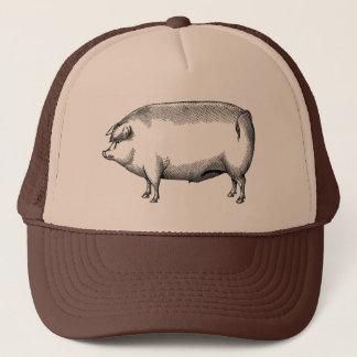 Vintage Pig Hat