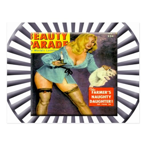 Vintage Pin Up Girl Postcards