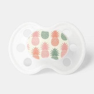 Vintage Pineapple Pattern 2 Baby Pacifiers