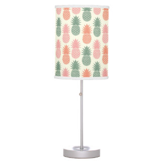 Vintage Pineapple Pattern 2 Table Lamps