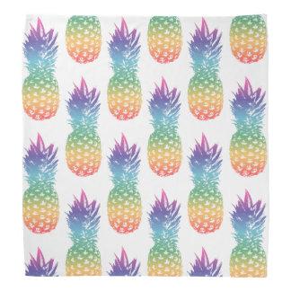 Vintage pineapple pattern bandana