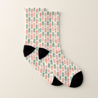 Vintage Pineapple Pattern Socks