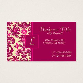 Vintage Pink Business Card
