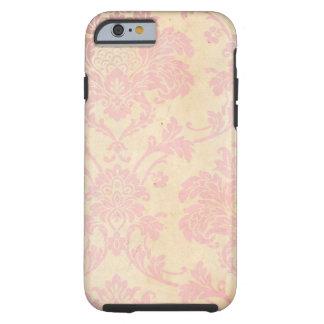 Vintage Pink Damask Tough iPhone 6 Case