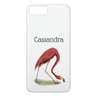 Vintage Pink Flamingo #1 iPhone 8 Plus/7 Plus Case