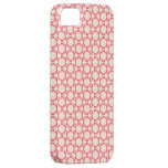 Vintage Pink Floral Design iPhone Case