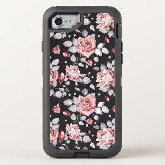 Vintage Pink Floral Pattern Apple iPhone 7 Case