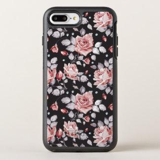 Vintage Pink Floral Pattern iPhone 7 Plus Case