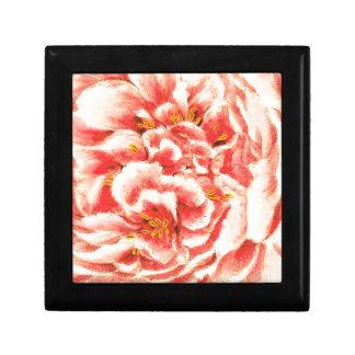 Vintage Pink Peonies Gift Box