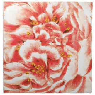 Vintage Pink Peonies Napkin