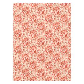 Vintage Pink Peonies Tablecloth