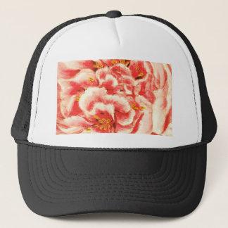Vintage Pink Peonies Trucker Hat